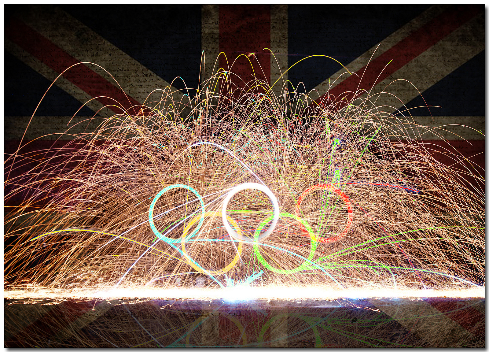 british olympic fire rings - Fire Rings