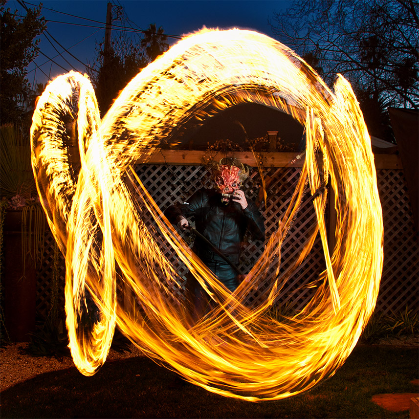 Tutorial Making A Fire Whip Photoshopscaresme