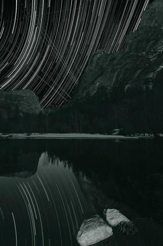 Mirror Lake Star Trail