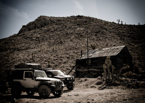 Jeeps at Lost Burro