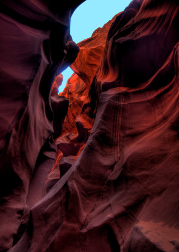 Lower Antelope Canyon - Wine