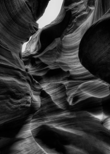 Lower Antelope Canyon - Moody