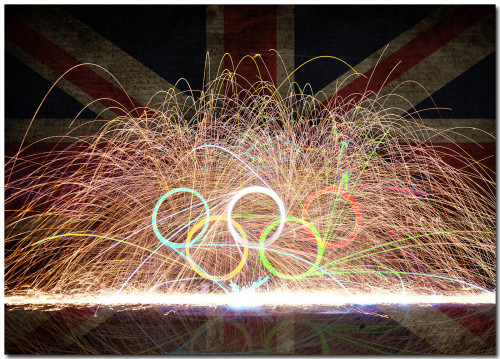 British Olympic Fire Rings