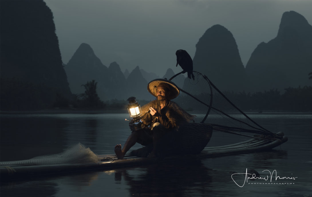 Cormorant Fishermen of Guilin: Smoking 2